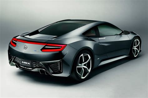nissan acura 2015 2015 acura nsx concept rear view photo 4