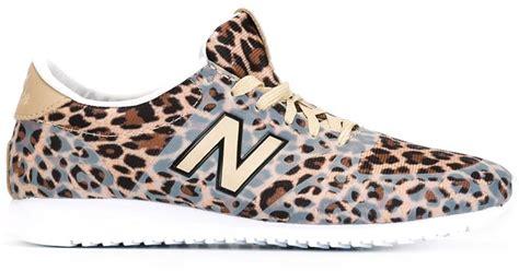 Jual New Balance Leopard new balance leopard print trainers in lyst