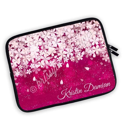 Pink Pouch one sided zippered personalized planner pouch pink