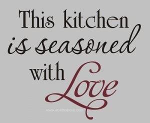 kitchen quotes quotesgram
