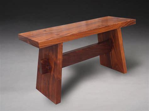 japanese style bench japanese walnut contenplation bench benham design concepts