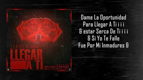 Ti Criminal Record Llegar A Ti Zerqe El Uniko Prod By Criminal Records Reggaeton Romantico 2014