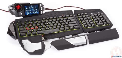 Gaming Keyboard mad catz cyborg s t r i k e 7 gaming keyboard review