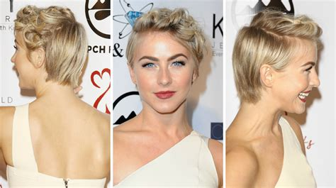 way to wear a growing out pixie cut julianne hough has genius way wear grown out pixie