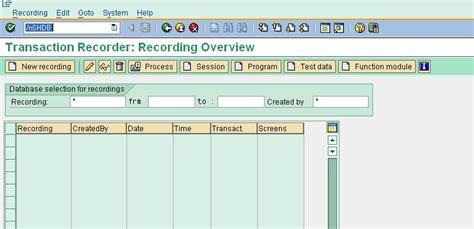 bdc tutorial sap technical learn sap batch data communication bdc techskills by
