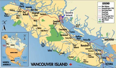 printable map vancouver quadra island brochure click for printable map quadra