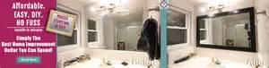 bathroom mirror frame kit buy mirror frames from mirrorchic