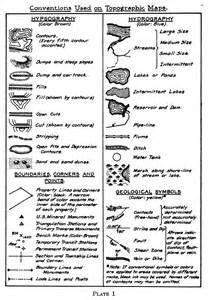 topographic map symbols canada mine map symbols 1919 maps diy cartography