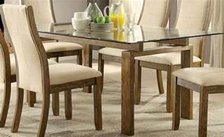 rectangular glass top dining room tables onway oak rectangular glass top dining room set cm3461t