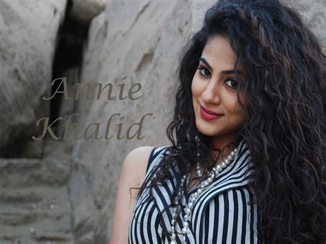 khalid iqbal biography annie khalid profile hot picture bio bra size