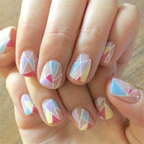 nail pattern for short nails 21 short nail art designs ideas design trends