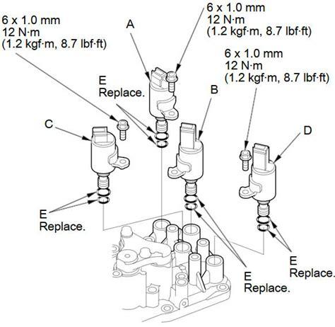 service manual repair manual transmission shift solenoid 1990 lexus ls transmission solenoid