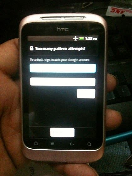 htc magic pattern lock reset how to hard reset htc wildfire s a510e remove pattern lock
