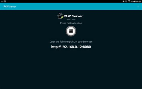 android web server how to turn an android device into a web server