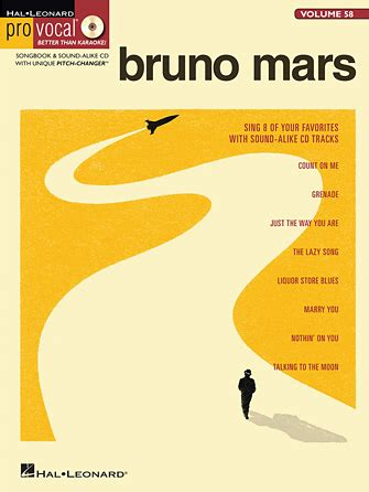 bruno mars biography book amazon count on me sheet music direct