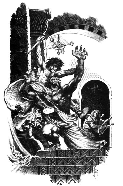 Mark Schultz, Rogues in the House by Robert E. Howard