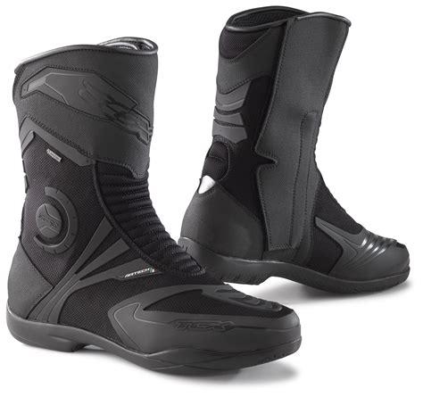tcx motorcycle boots tcx airtech evo tex boots revzilla