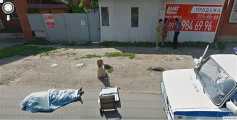 Dead Bodies On Google Street View | google street view captures a dead body in russia google