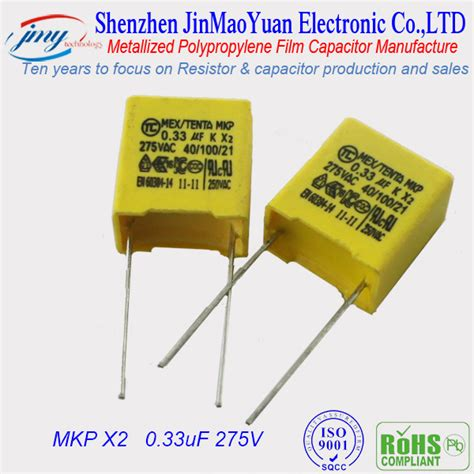 kapasitor 100nf mkp 275v x2 capacitor mkp 250v with safety capacitor manufacurter buy capacitor 275v capacitor x2