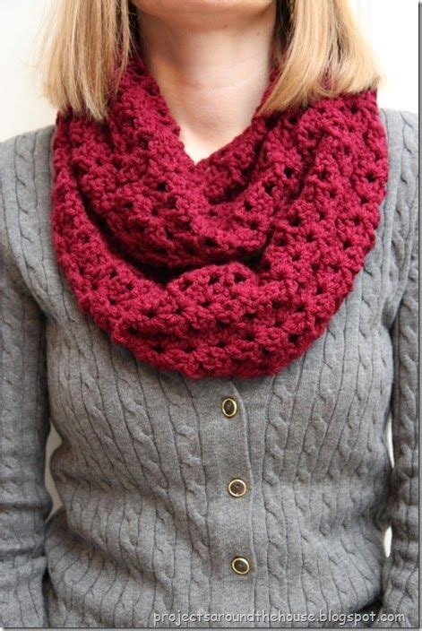 pinterest pattern for infinity scarf crochet double v stitch quick infinity scarf free pattern