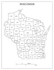county map printable 5 best images of wisconsin county map printable