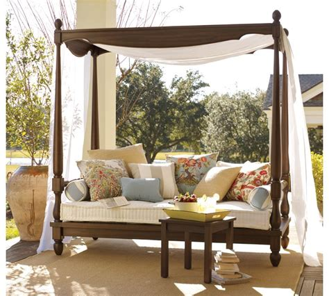 Daybed With Canopy Awesome Back To Article Balinese Daybed With Canopy For Patio And Balcony Design Contemporary