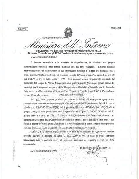 ministero dell interno forum legge di riforma della polizia locale pagina 234