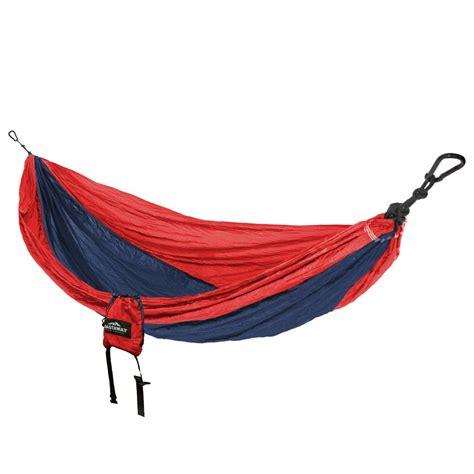 Hammock Parasut castaway 9 ft parachute bag hammock in and navy pa 7029mp4 the home depot