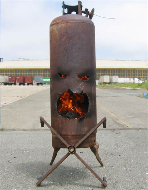Gas Fireplace Propane Tank quot mr quot the outdoor fireplace made from