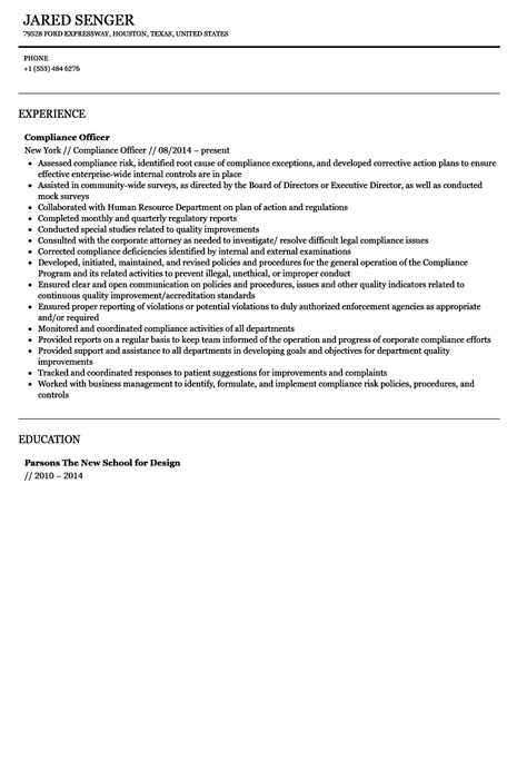 .top 8 chief compliance officer resume samples 1 638 jpg cb 1428498867