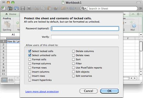 ms excel 2011 for mac protect a cell ms excel 2011 for mac protect a cell