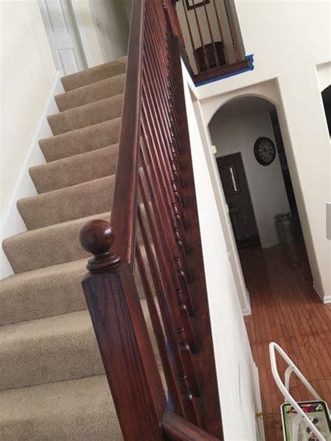 mahogany banister 17 best images about gel stains from gf on