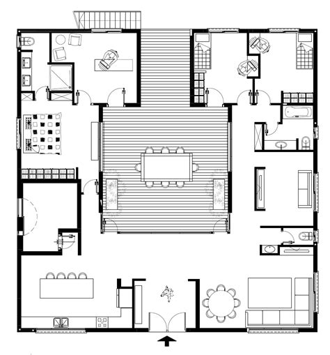 patio house plans patio house by henkin shavit architecture design