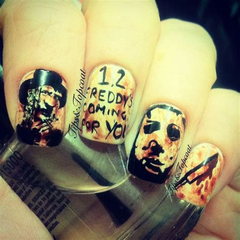 tattoo nightmares halloween tr st 17 best images about horror nail designs on pinterest