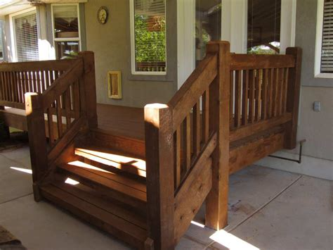 Wooden Front Stairs Design Ideas Front Porch Traditional Front Porch Design With Brown Wooden Deck Designed With Stair