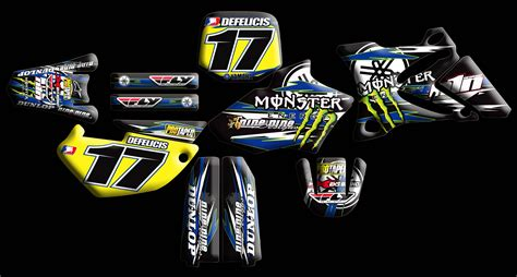 design graphics mx yamaha full kits nineonenine designs