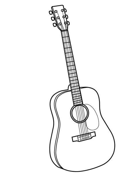 musical instruments coloring pages printable 34 best images about instrument coloring pages on