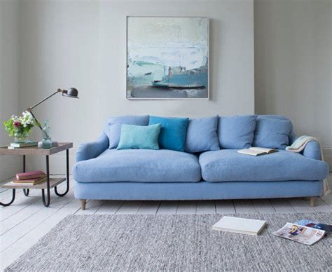 25 best ideas about blue sofas on blue living