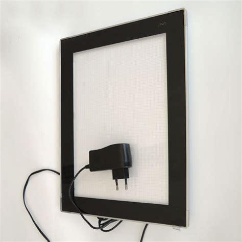 bilderrahmen mit beleuchtung leuchtrahmen lumo bilderrahmen mit led beleuchtung f 252 r