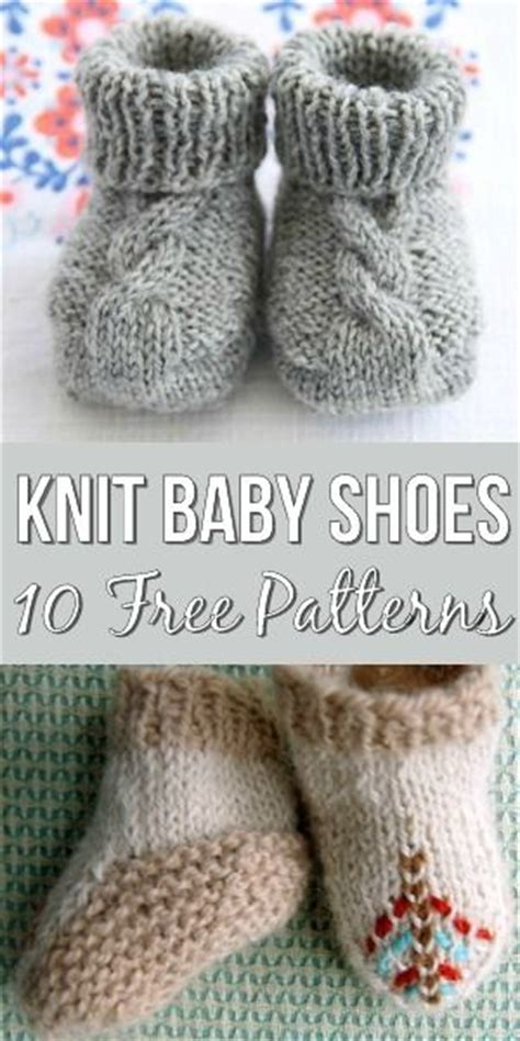 knitting pattern help 10 free knitting patterns for baby shoes the most