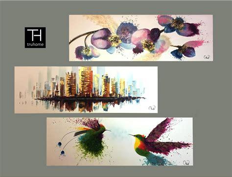 tendencias en decoracion  cuadros al oleo