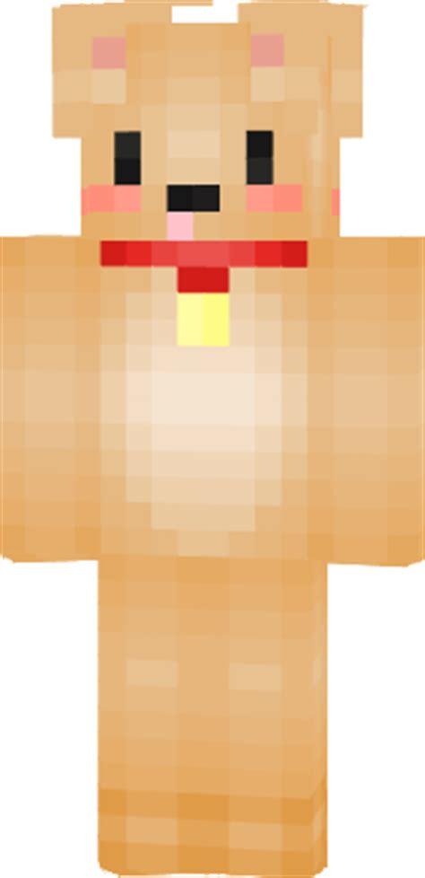 puppy minecraft skin puppy