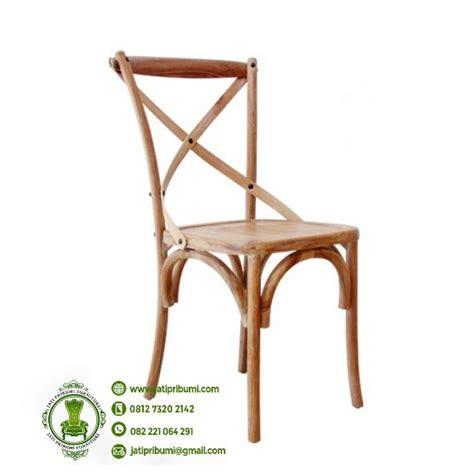 Kursi Makan Apollin Meja Silang Jati Furniture Kursi Tamu Nakas kursi cafe silang kayu jati harga murah jati pribumi