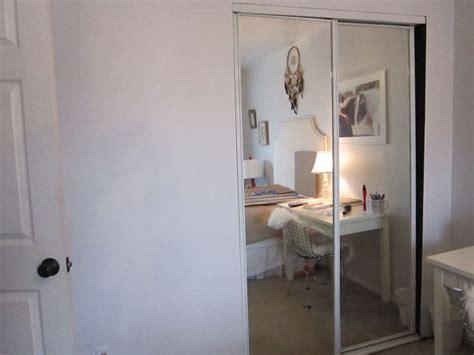 Mirrored Closet Doors Makeover Hometalk Mirrored Closet Door Makeover