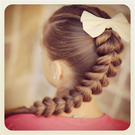 pretty hairstyles how to do pull through braid easy hairstyles cute girls hairstyles