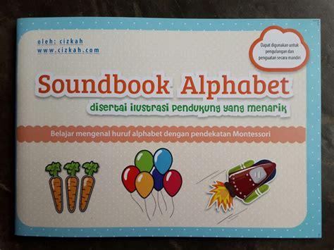 Buku Alphabet Anak buku anak soundbook alphabet disertai ilustrasi pendukung toko muslim title