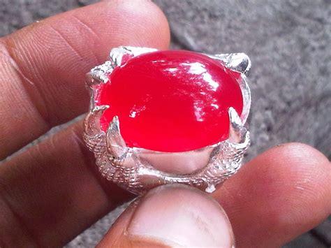 Cincin Cewe Batu Merah Delima 8 ciri ciri batu cincin merah delima yang asli pecinta