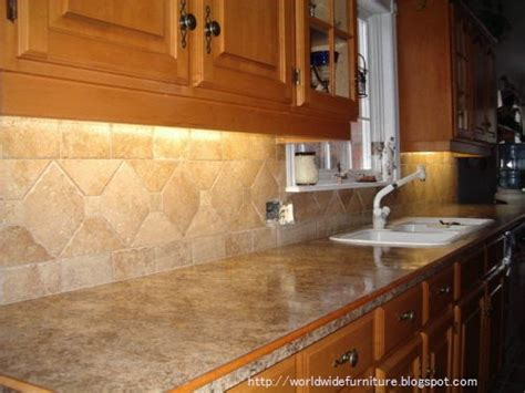 Kitchen Tile Backsplash Design Ideas | all about home decoration furniture kitchen backsplash