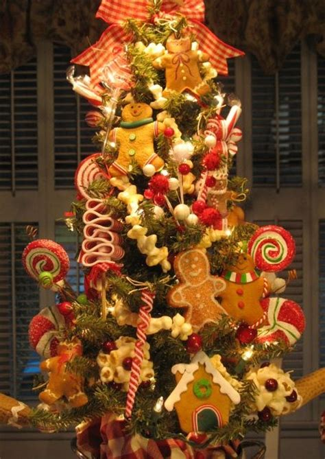 gingerbread themed trees gingerbread tree trees trees sweet and gingerbread