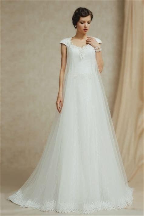 Brautkleid A Linie Spitze ärmel by Langes Kleid Mit Spitze 228 Rmel Kleider 2017 Langes Kleid